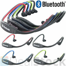 Wireless Bluetooth Headset Stereo Sport Headphone Earphone for iPhone Samsung LG