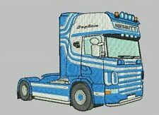 Scania Truck Embroidered & Personalised T Shirt