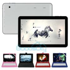 "10.1"" Quad Core Tablet PC Google Android 4.4 Cams WIFI 3G Bluetooth+Keyboard&OTG"
