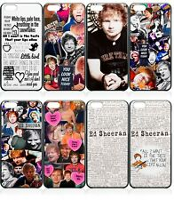 Ed Sheeran Chanteur auteur-compositeur fits iphone ou ipod