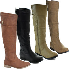 Top Moda Land-57 Buckle Riding Boots