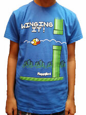 Official Genuine Boys Tshirt Flappy Birds Winging It Size 7-13yrs UK Seller BNWT