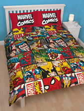 Marvel Avengers Defenders Reversible Duvet Set - Double