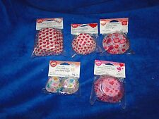 NEW WILTON VALENTINE'S DAY BAKING & PARTY CUP HOLDERS, REG, MINI & LOAF, U PICK