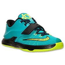 [669944-302] NIKE KEVIN DURANT 7 HYPER JADE/BLUE YOUTH SIZE 10.5 TO 2.5 NIB