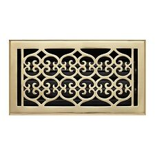 Naiture Brass Wall Register Old Victorian Style In 9 Sizes and 7 Finishes