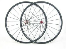 Ultra light weight 1045g 700C carbon wheel,1420 spoke 24mm tubular racing wheel