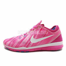WMNS Nike Nke Free 5.0 TR FIT 5 PRT [704695-601] Training Pink/White-Fireberry