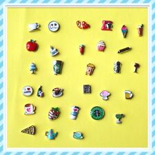 Floating Charms Drinks and Food for Glass Living Memory lockets-Free Shipping