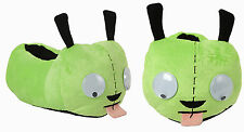 Invader Zim Gir Googly Moving Eyeballs Tongue Dog Ears Plush Slippers Hot Topic