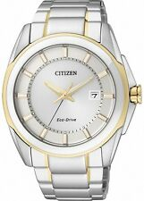 Citizen Eco-Drive Sapphire Japan 100m Dual Tone Men's Watch BM6725-56A