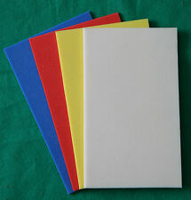 FlyBox S/A Lining/Relining Foam 250 x 150 x 4mm Red,White,Blue,Yellow
