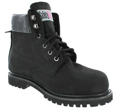 Safety Girl Sheepskin Lined Womens Work Boots - Black