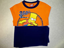 Boys Bart Simpson Long Sleeve Pyjamas  Ages 3-4 / 5-6 / 7-8 / 9-10  - BNWT
