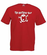 BIRTHDAY BOY funny party christmas gift ideas present top boys girls T SHIRT