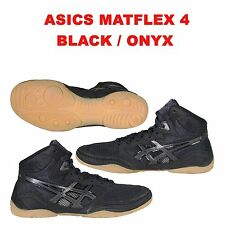 Brand New Asics Matflex 4 Black/Onyx Wrestling Shoes All Sizes