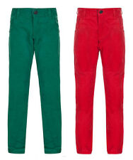 Boys Red And Green Chinos Ages 12 Months - 7 Years