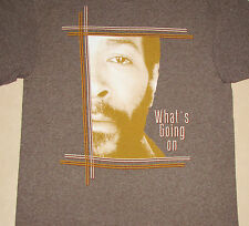 Marvin Gaye What's Going On Gray Shirt NEW M L XL
