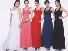 11 COLOR COCKTAIL PROM BRIDESMAIDS HOMECOMING LONG FORMAL DRESS BALL GOWN XS-3XL
