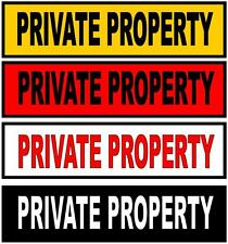 Private Property Sign Metal Private Property Sign