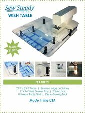 PFAFF Sewing Machine NEW - Sew Steady Wish Extension Table