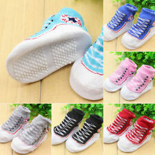 New Newborn Baby Boy Girl Clothes Soft Non-slip Shoes Socks Boots 0-12 Months