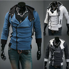 Stylish Assassin's Creed Desmond Miles New Mens Hoodie Hoody Coat Jacket Size z