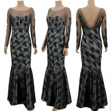 Long Chiffon Black Evening Formal Party Ball Gown Prom Cocktail Dress New Hot