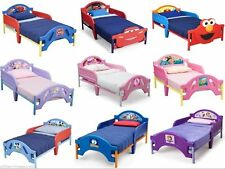 NEW- CHILDREN KIDS BOYS GIRLS TODDLER BED (w opt CANOPY) - DISNEY CHAR.