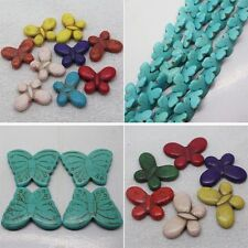 15x20-29x39mm Multicolor Blue Turquoise Butterfly Loose beads 10pcs