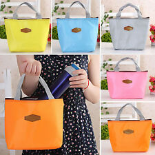 Thermal Travel Picnic Lunch Tote Insulated Cooler Bag Organizer Waterproof