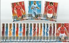 match attax extra 2014/15 SQUAD UPDATES ARSENAL - STOKE - choose IN STOCK NOW!