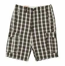 Levi's Ace Relaxed-Fit  Plaid / Checkered Cargo Shorts - Men Sizes - NWT