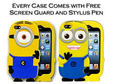 3D Soft Silicone Despicable Me Minion Gel Case Cover For Apple iPhone 5 5G 5S
