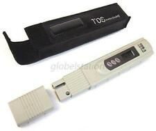 LCD Digital TDS Meter Tester Water Quality TEMP/PPM Purity Filter With Bag G77