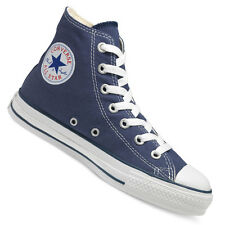 Converse All Star Unisex Chuck Taylor Hi Tops Canvas Plimsolls Navy (#6800)