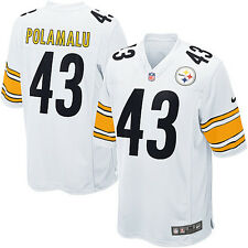 Pittsburgh Steelers Troy Polamalu #43 YOUTH Nike NFL Jersey M-XL White