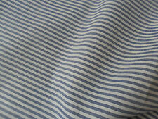Stripe Chambray Cotton Denim Fabric, 155cm wide, perfect for shirts, dressmaking