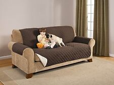 NEW LUXURY QUILTED MICROFIBER PET DOG COUCH SOFA FURNITURE PROTECTOR COVER