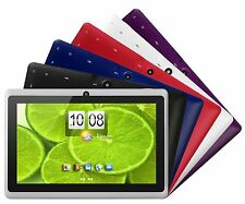 "Tablet PC 7"" Screen Quad Core Android 4.4 KitKat Wi-Fi Dual Camera w/ Accessory"