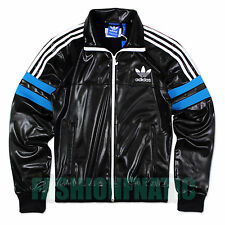 Adidas Originals Mens Chile 92 Wet Look Stylish Jacket Tracksuit Top (#9114)