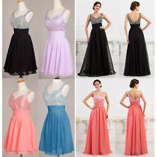 HOT DEAL 2 STYLE  Wedding Bridesmaid Formal Evening Party Gown Prom Dresses 6-20