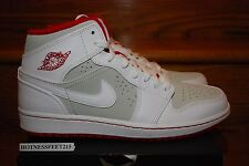 Nike Air Jordan I Retro 1 Mid Hare Bugs Bunny Red 719551-123 GS & MEN SZ: 4y-13