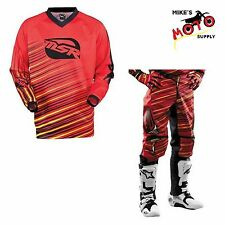 MSR M13 Axxis Pant/Jersey Combo Red/Yellow