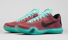 2015 Nike KOBE 10 X 'EASTER' HOT SUNSET LAVA RED TEAL GS & MEN'S Size: 4Y-13
