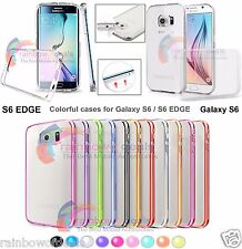 For Samsung Galaxy S6 Case Slim Transparent Crystal Clear Hard TPU Cover S6 EDGE