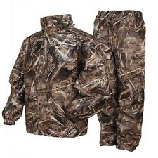 Frogg Toggs All Sports Camo Waterproof Jacket Pant Suit (Realtree Max 5) AS1310