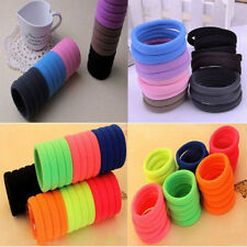 New Sale Gilrs High Elastic Rope Ring Hairband High Quality Ponytail Hair Band