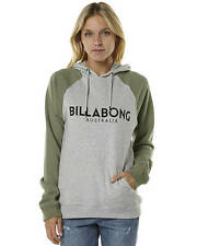 New Billabong Women's Billypop Womens Hood Fleece Cotton Pu Women's Hoodie