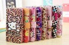 New Hello Kitty PU Leather Case Cover For Samsung Galaxy Note 3 III N9000 N9005